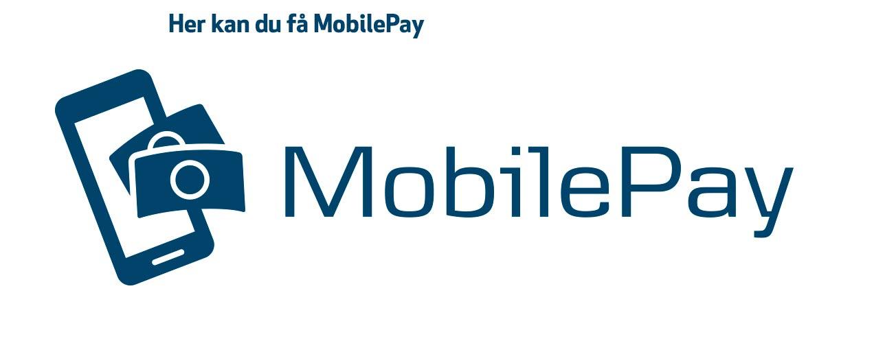 Her kan du får MobilePay