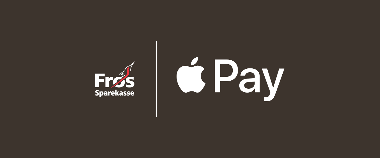 Apple Pay hos Frøs Sparekasse