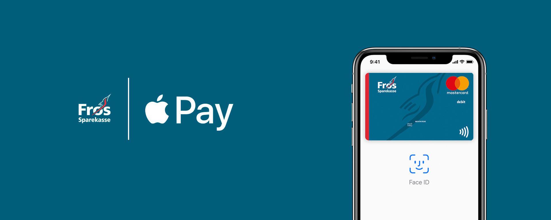 Apple Pay hos Frøs Sparekasse
