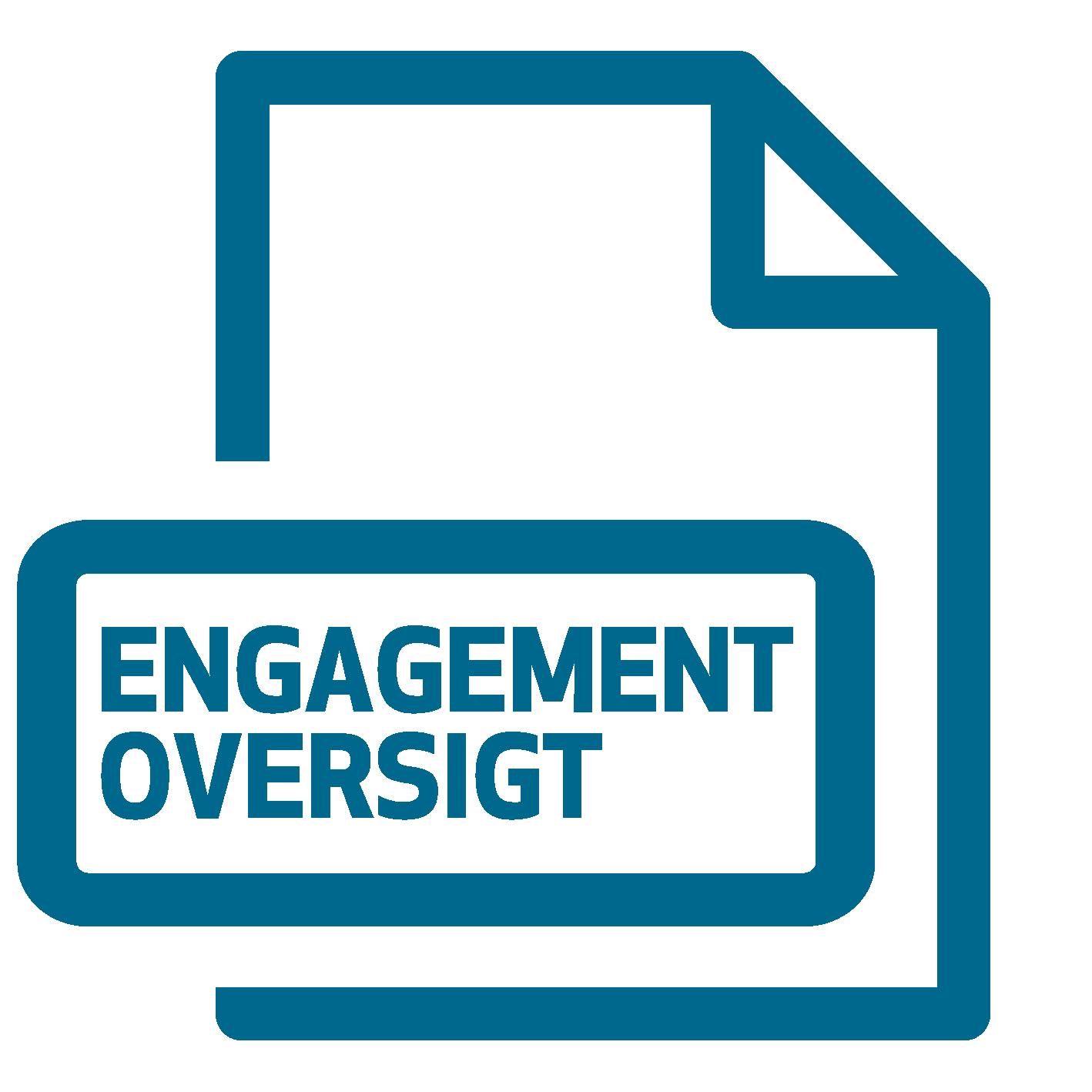 Bestil engagement oversigt