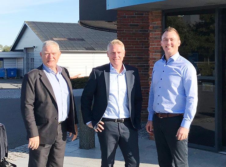 Erhvervscenter Syd - Jan Kristensen, Niels Lorentzen og Anton Christensen